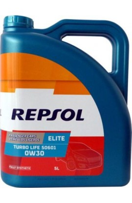Repsol elite turbo life 50601 0w30 5 litros