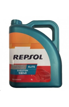 REPSOL ELITE EVOLUTION 5W40 LATA DE 5 LITROS