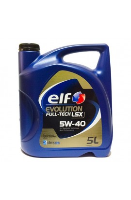 ELF EVOLUTION FULL-TECH LSX 5W40 C3 5L