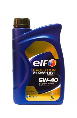 ELF EVOLUTION FULLTECH 5W40 LSX 1L